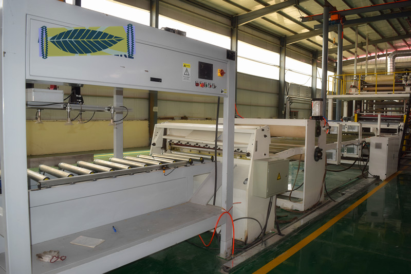 vinyl pvc tiles production line